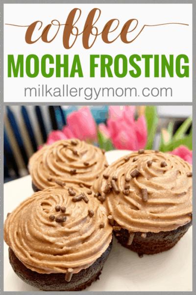 dairy free mocha frosting