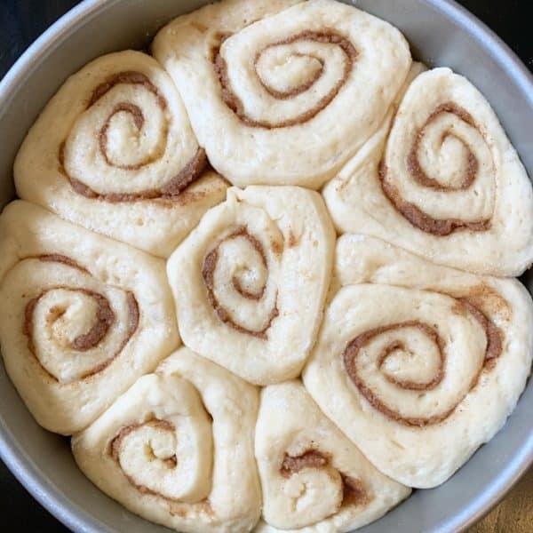 kitchen aid cinnamon rolls