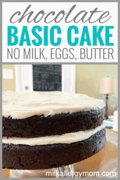 Chocolate Cake No Milk Or Egg