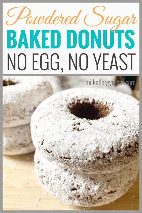 powdered sugar donut recipe no egg
