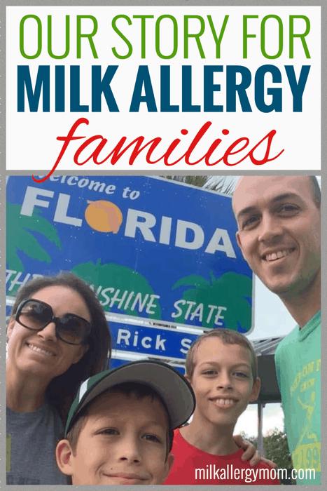 Milk Allergy Mom Story