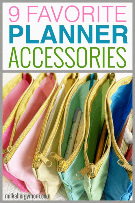9 Favorite Planner Accessories