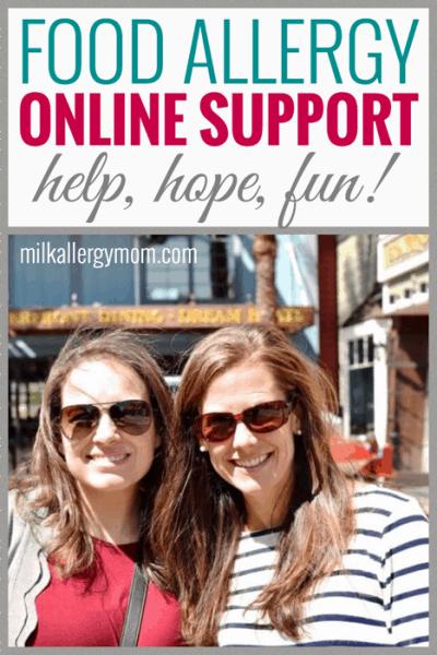 Online Food Allergy Support!