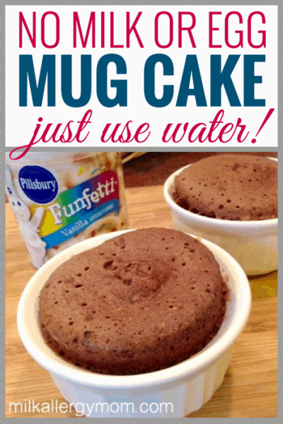 Mug Cake With No Milk or Egg