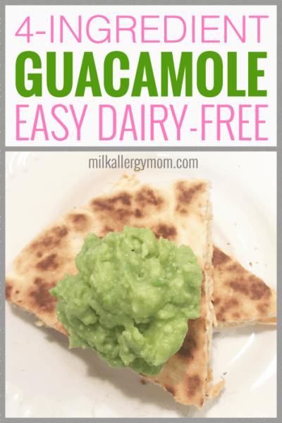 Easy Guacamole Recipe Dairy-Free