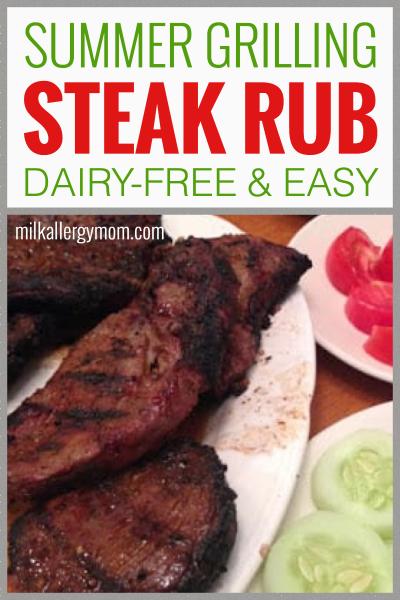 Summer Steak Rub Dairy Free