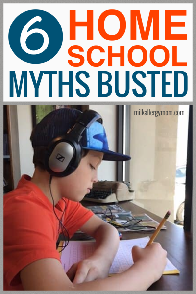 6 Home School Myths Busted