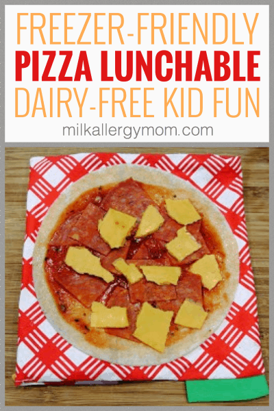 Pizza Lunchable Dairy Free