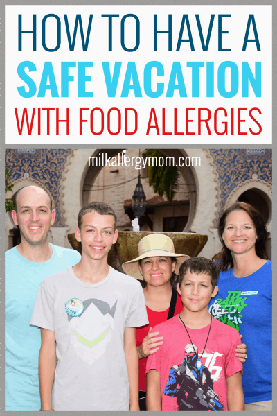 How To Vacation With Food Allergies