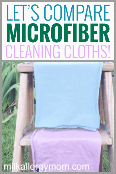 Comparing Microfiber Cleaning Cloths
