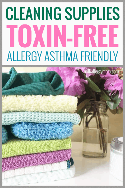 Allergy Cleaning Supplies Toxin-Free