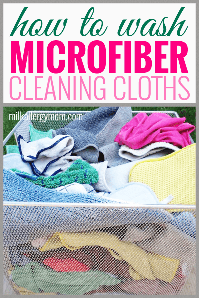 How to Wash Microfiber Cleaning Cloths