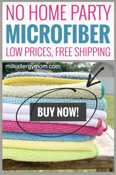 Toxin-Free Microfiber Cleaning Cloths