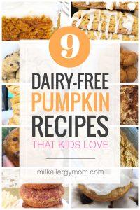 9 Easy Pumpkin Recipes Dairy-Free
