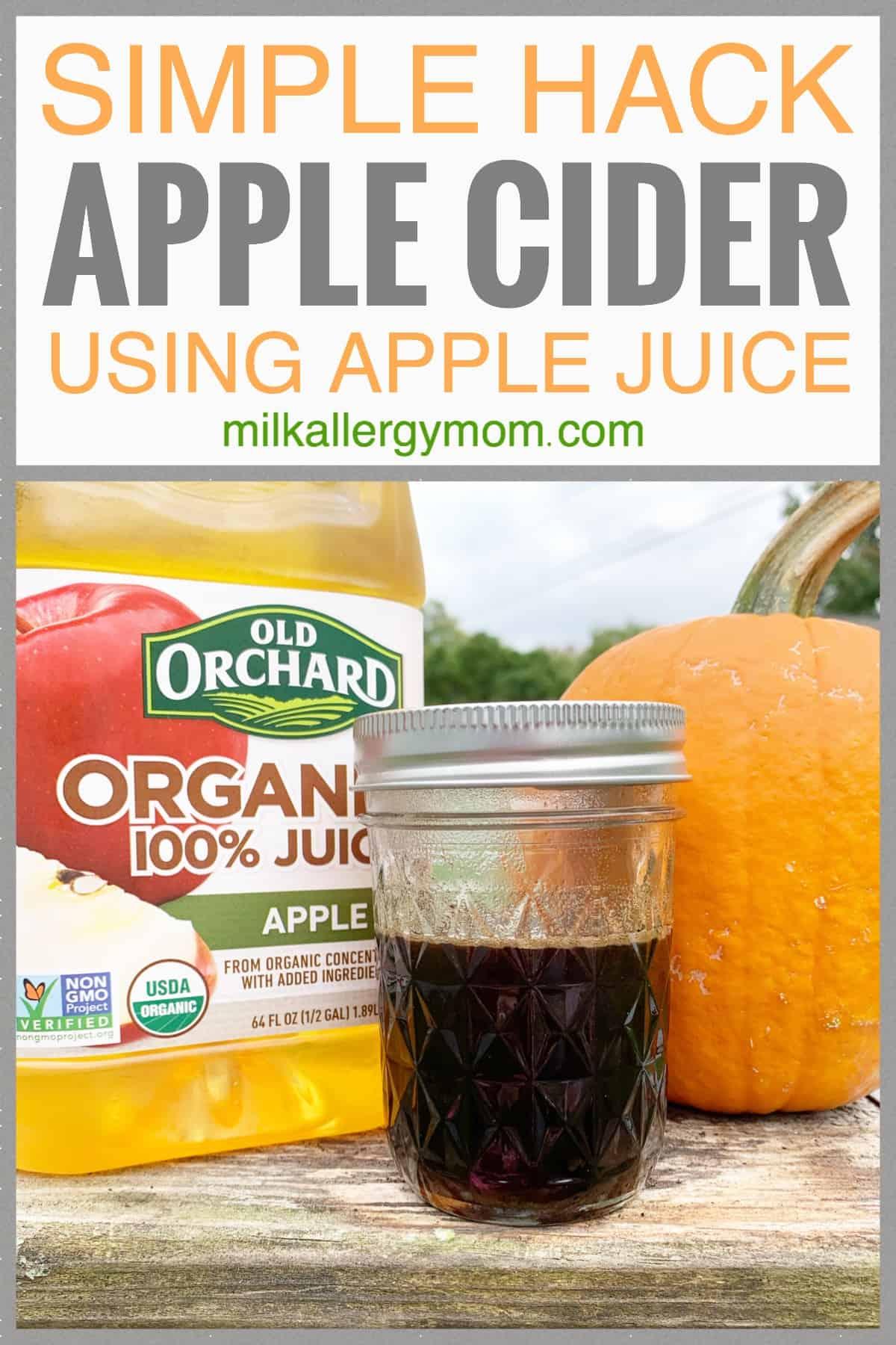 Apple Juice Apple Cider Recipe