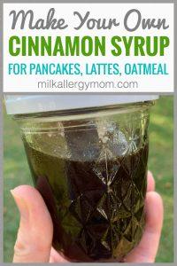 Easy Homemade Cinnamon Syrup