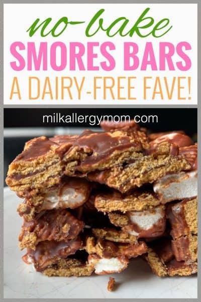 No Bake Cereal S'Mores Recipe