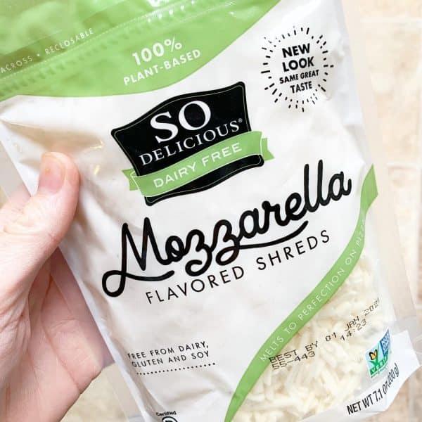 Dairy Free Mozzarella Shreds