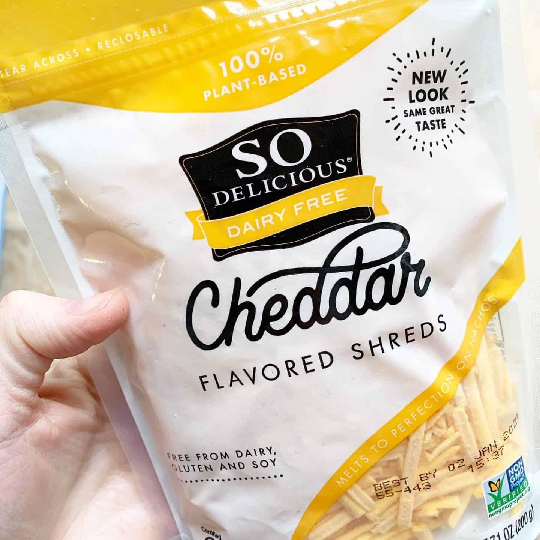 Dairy Free Cheddar Shreds
