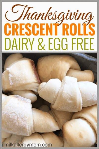 Crescent Roll Recipe Dairy Egg Free