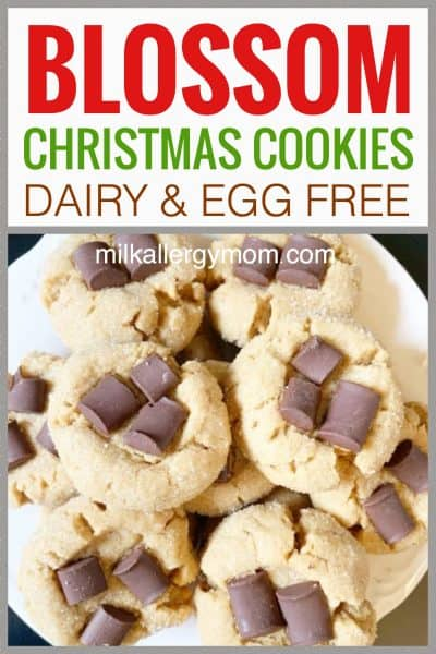 Dairy-Free Blossom Cookies