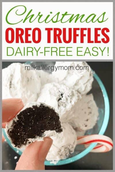 Oreo Truffles Dairy-Free