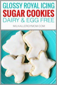 Vegan Sugar Cookies & Royal Icing