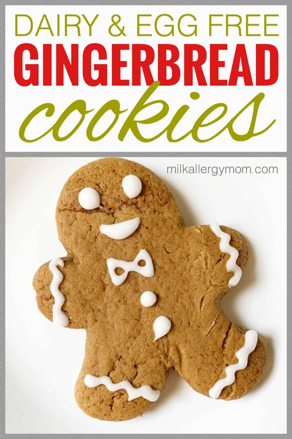 Gingerbread Cookies Dairy Egg Free