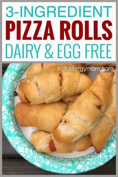 Dairy Free Crescent Pizza Rolls