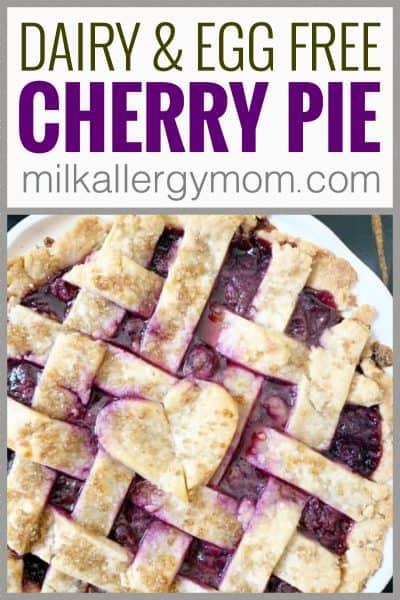 Cherry Pie Dairy Free