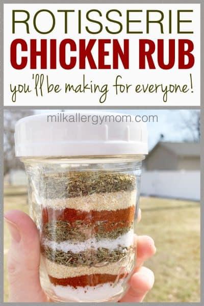 Chicken Rub Recipe