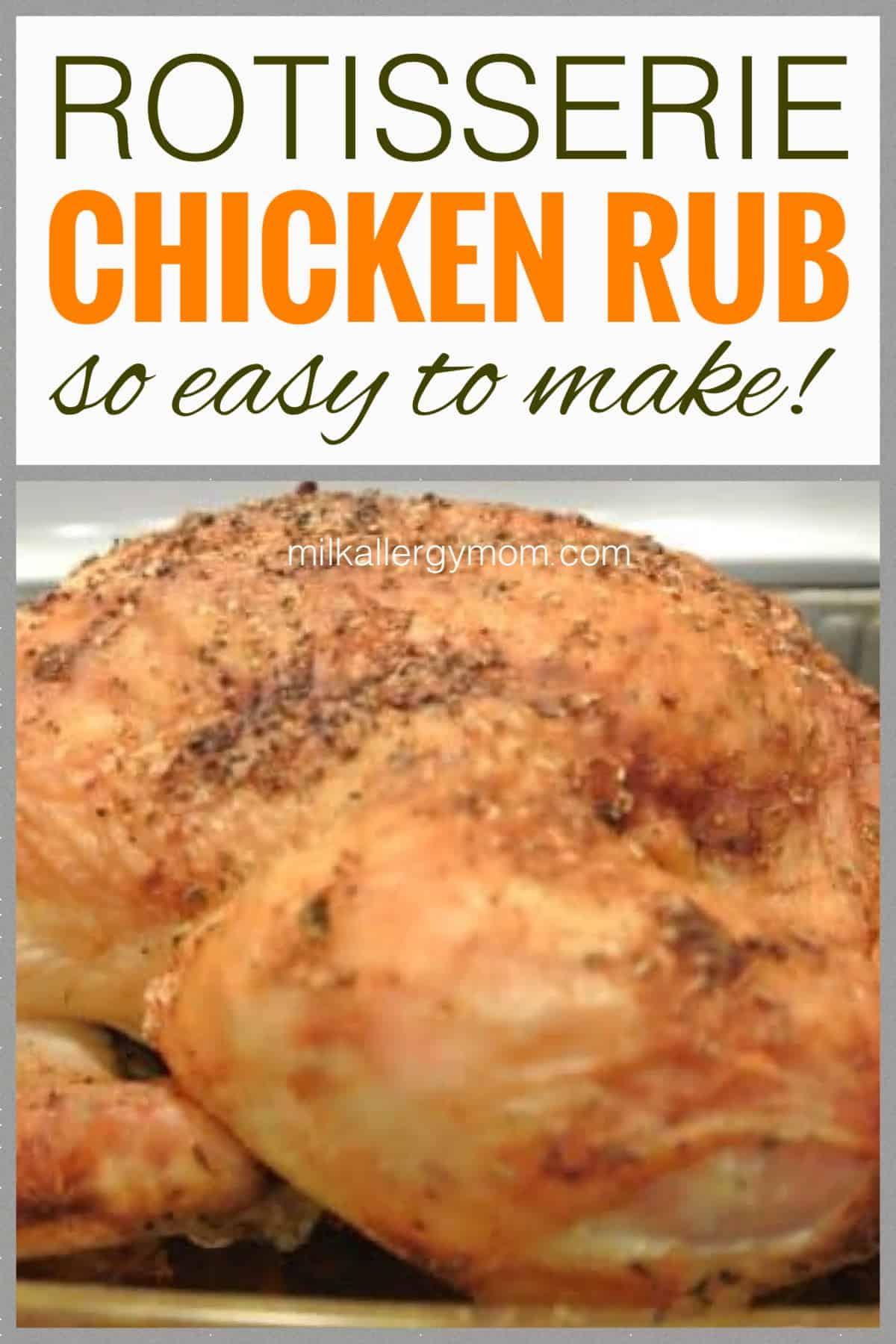 dairy free rotisserie chicken recipe
