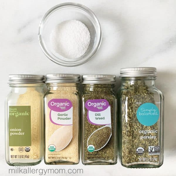 Ranch Seasoning Spices