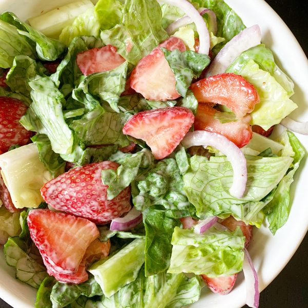 strawberry salad recipe dairy free