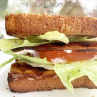 Bacon Sandwich Dairy-Free