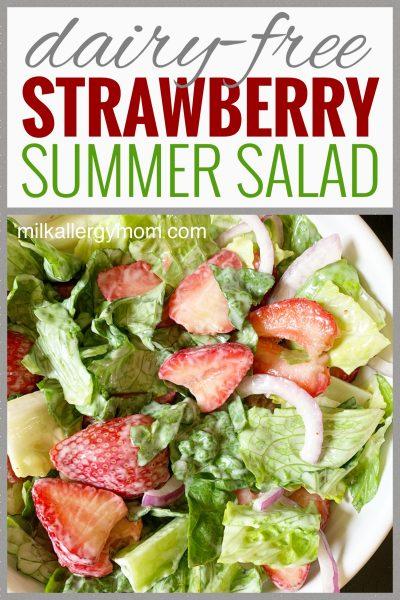 strawberry salad dairy free