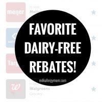 Dairy-Free Rebates