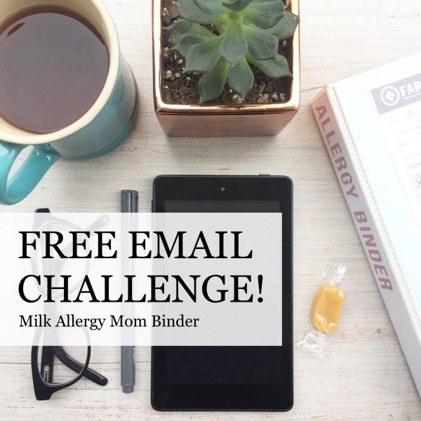 Milk Allergy Mom Binder