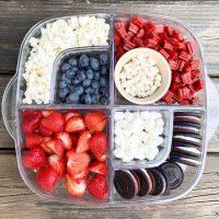 USA snack tray dairy-free