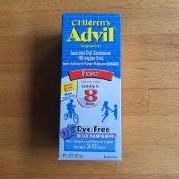 Advil Blue Raspberry Milk Alert