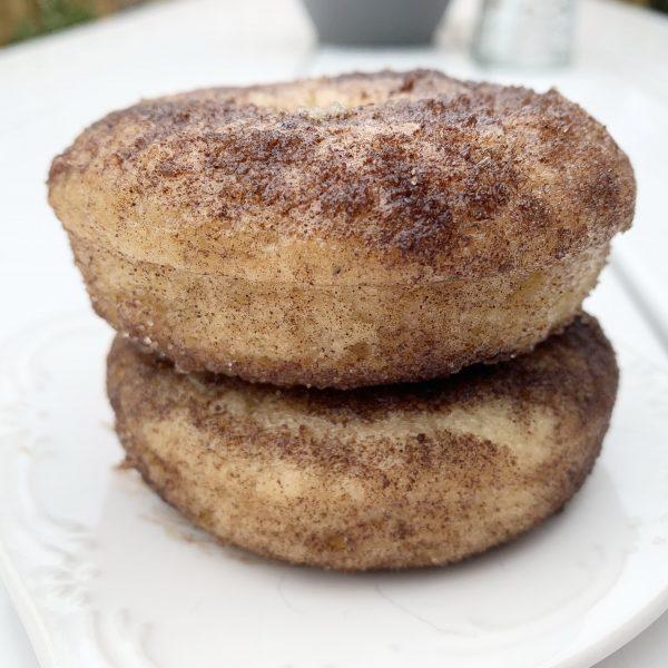 cinnamon sugar donuts vegan